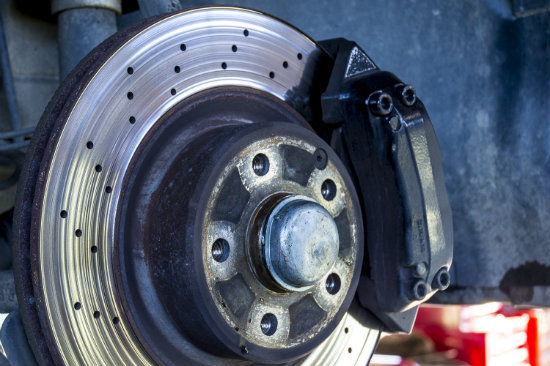 Worn Brake Discs
