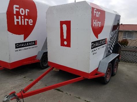 Trailer Hire Furnature Mover Car Transporter Timaru